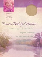 Kjv Promise Bible For Mothers Pink Faux Leather image