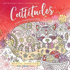 Adult Coloring Book: Cattitudes Pure Purrrfection (Majestic Expressions) image