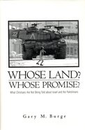 Whose Land? Whose Promise? image