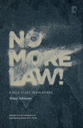 No More Law! image