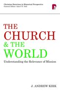 Cdhp: Church And The World, The