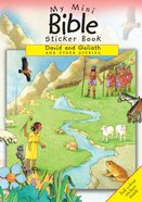 My Mini Bible Sticker Book: David And Goliath And Other Stories image