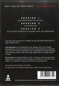Product: Dvd Why Belief Matters Live From Belfast Image