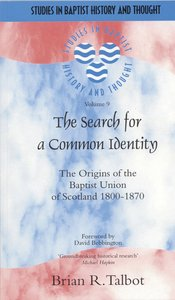Product: Sbht: Search For A Common Identity, The Image