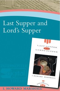 Product: Last Supper And Lord's Supper Image