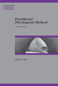 Product: Pbtm: Postliberal Theological Method Image