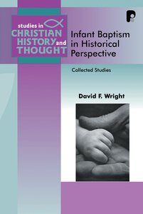 Product: Scht: Infant Baptism In Historical Perspective Image
