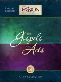 Product: Tpt Passion Translation: Gospel And Acts (5-in-1 Collection) Image