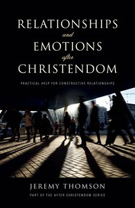 Product: Relationships And Emotions After Christendom Image