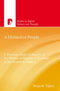 Product: Sbht: Distinctive People, A Image