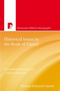 Product: Pbm: Historical Issues In The Book Of Daniel Image