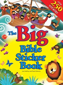Product: Big Bible Sticker Book, The Image