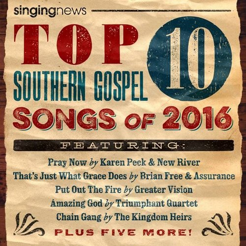 Product: Singing News Top 10 Songs 2016 Image