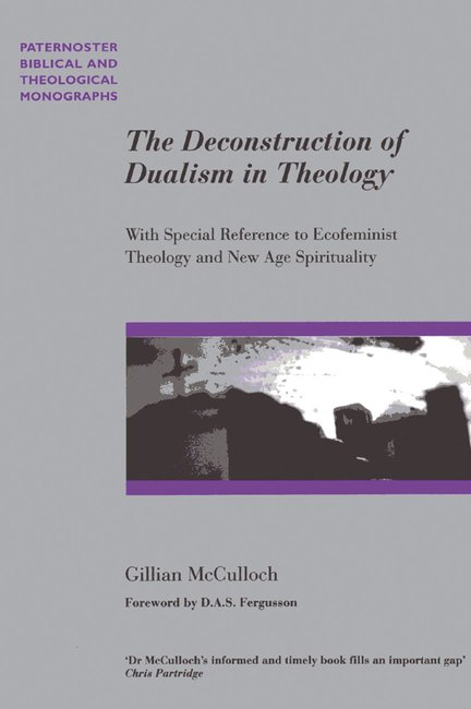 Product: Pbtm: Deconstruction Of Dualism In Theology, The Image