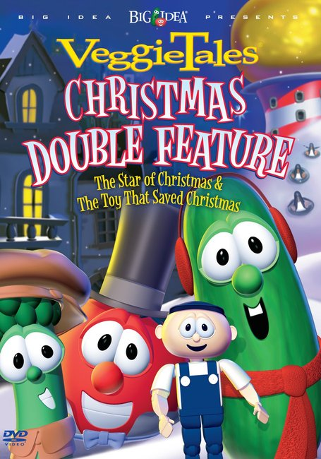 Product: Dvd Veggie Tales Double: Toy That Saved Christmas/star Of Christmas Image