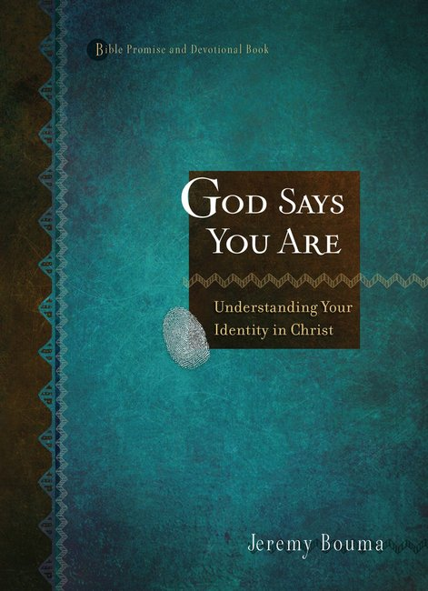 Product: Bible Promise And Devotional: God Say You Are - Understanding Your Identity In Christ Image