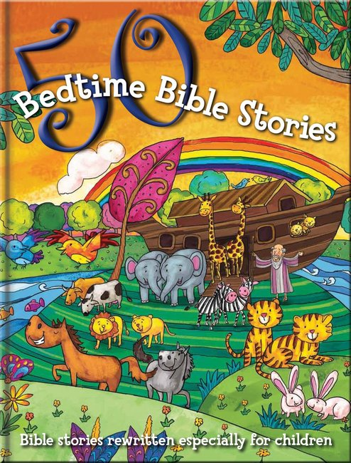 Product: 50 Bedtime Bible Stories Image