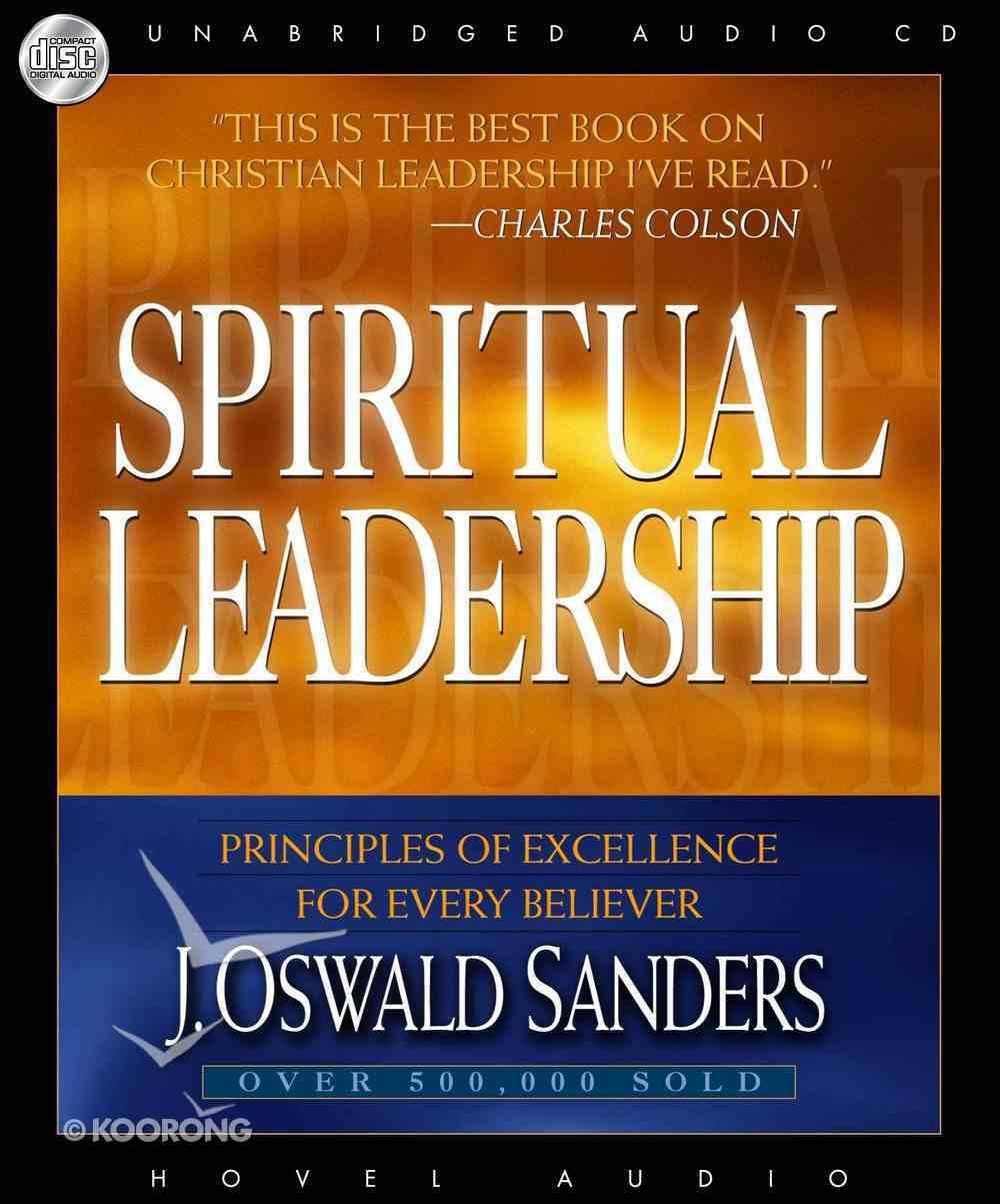 Spiritual Leadership (Unabridged, 4 Cds) CD