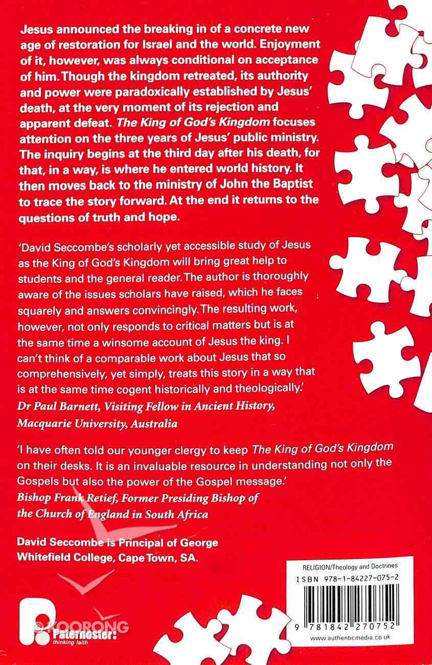 The King of God's Kingdom Paperback