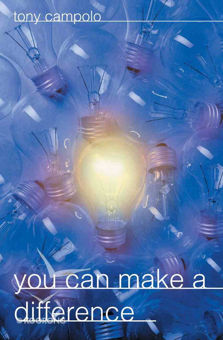 You Can Make a Difference Paperback