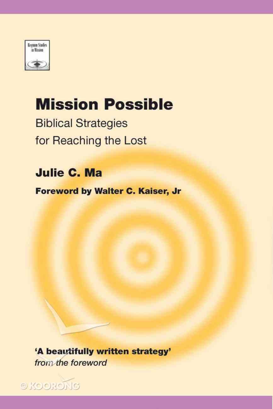 Mission Possible (Regnum Studies In Mission Series) Paperback