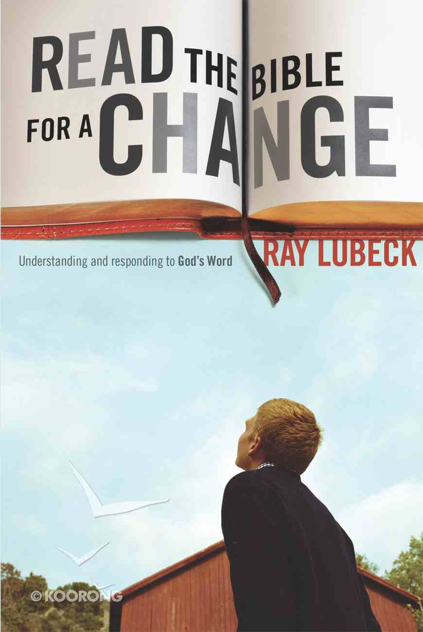 Read the Bible For a Change Paperback