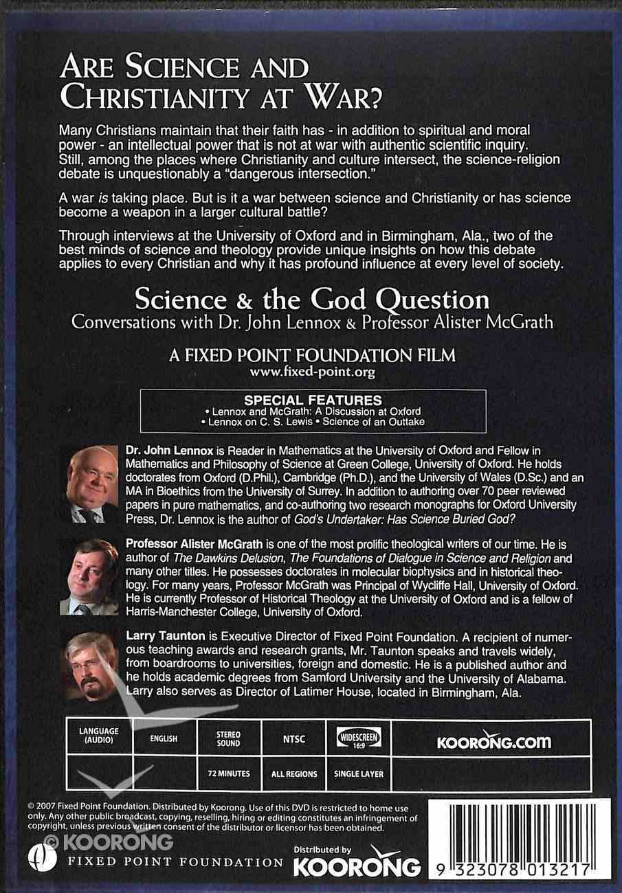 Lennox / Mcgrath: Science and the God Question (Fixed Point Foundation Films Series) DVD
