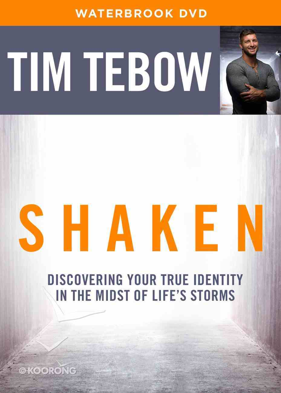 Shaken: Discovering Your True Identity in the Midst of Life's Storms (Bible Study Dvd) DVD