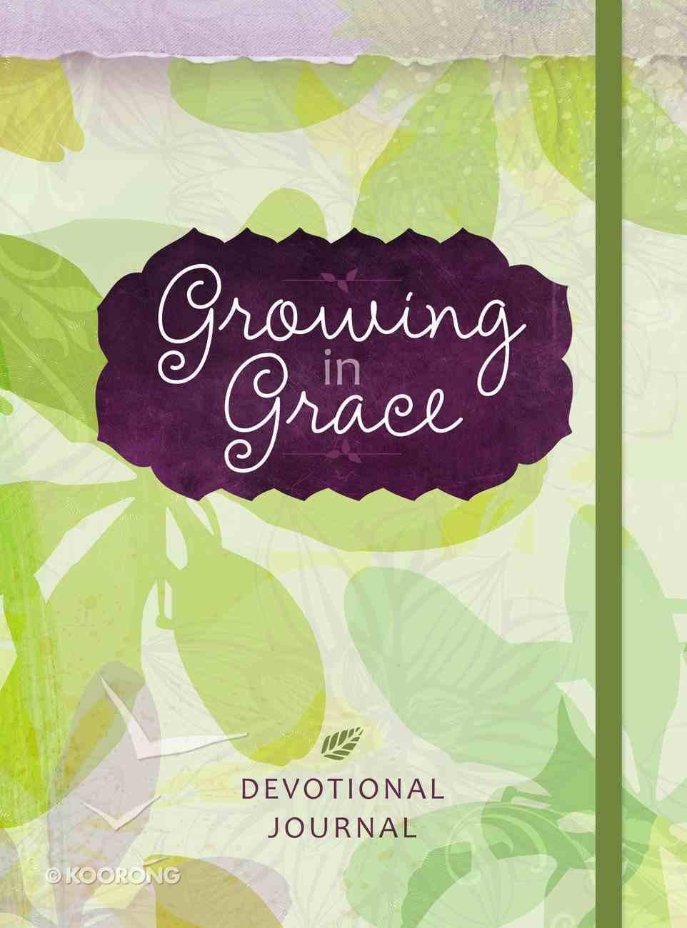 Growing in Grace Devotional Journal Hardback