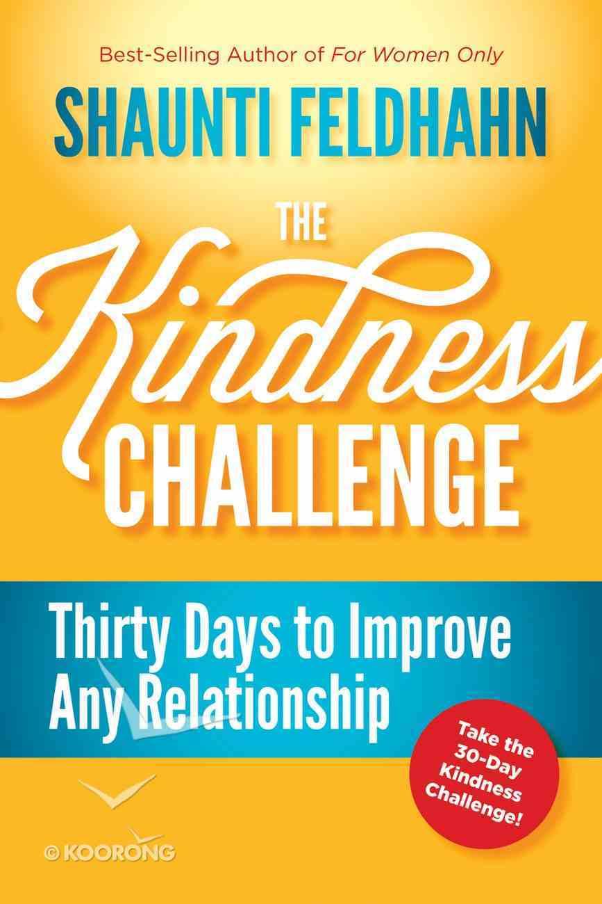 The Kindness Challenge Hardback