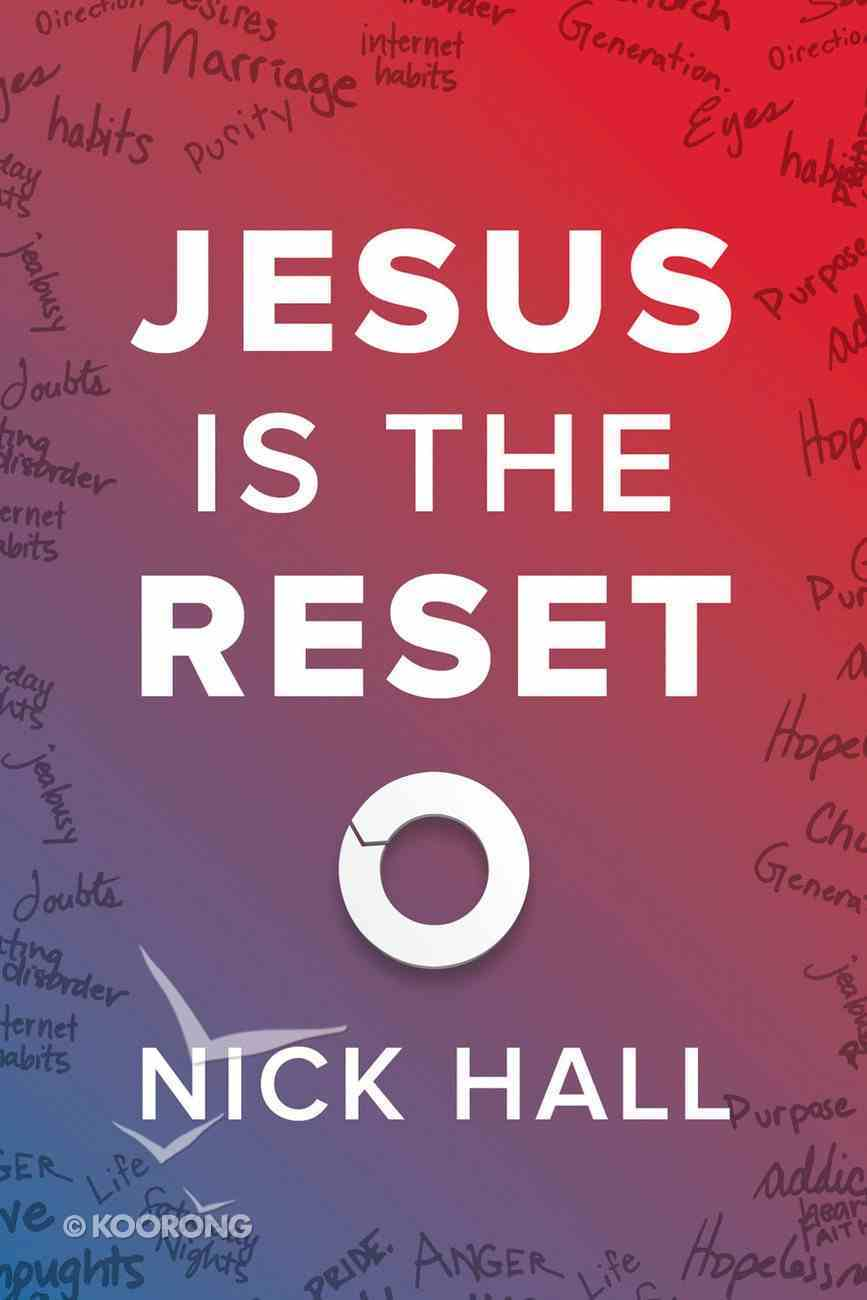 Jesus is the Reset (10 Pack) Booklet