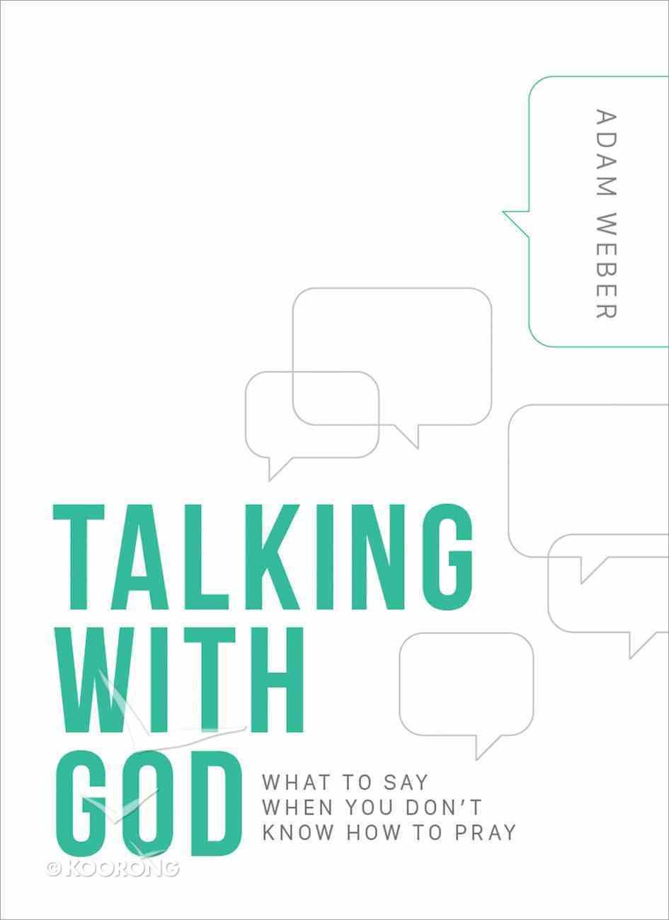 Talking With God Hardback
