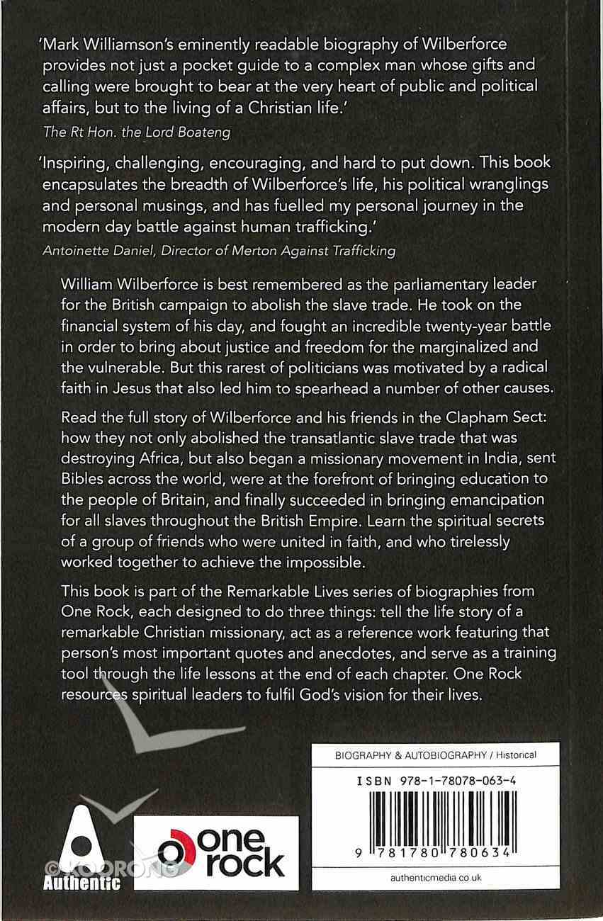 William Wilberforce: Achieving the Impossible Paperback