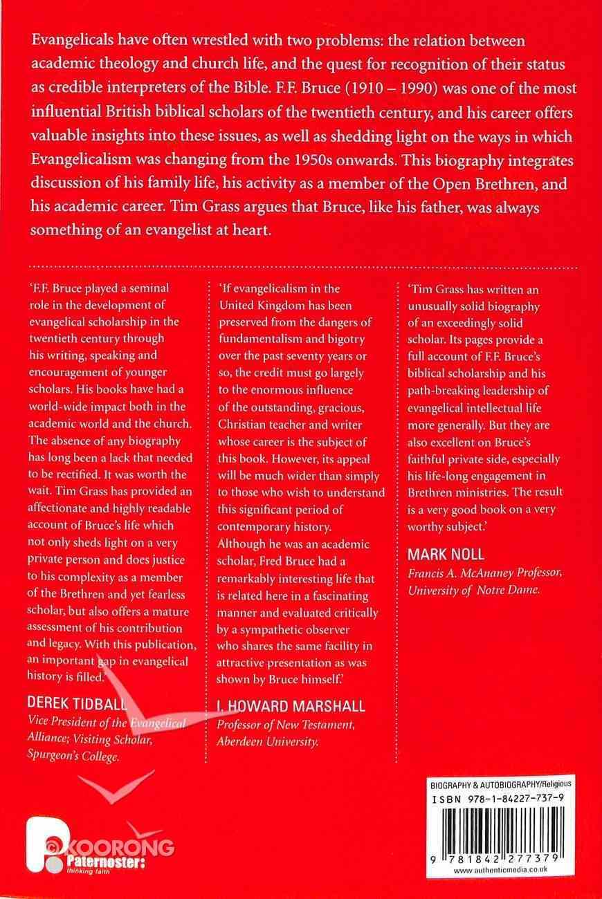 F.F. Bruce: A Life Paperback