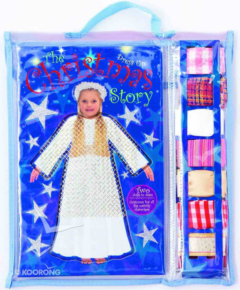 Dress Up the Christmas Story Board Book