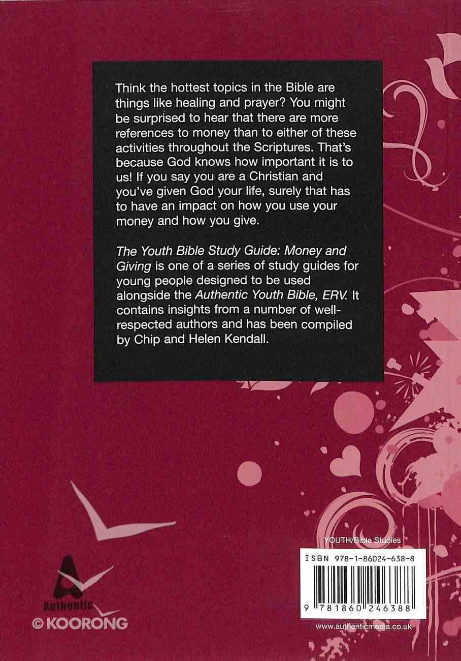 Money and Giving (Youth Bible Study Guide Series) Paperback
