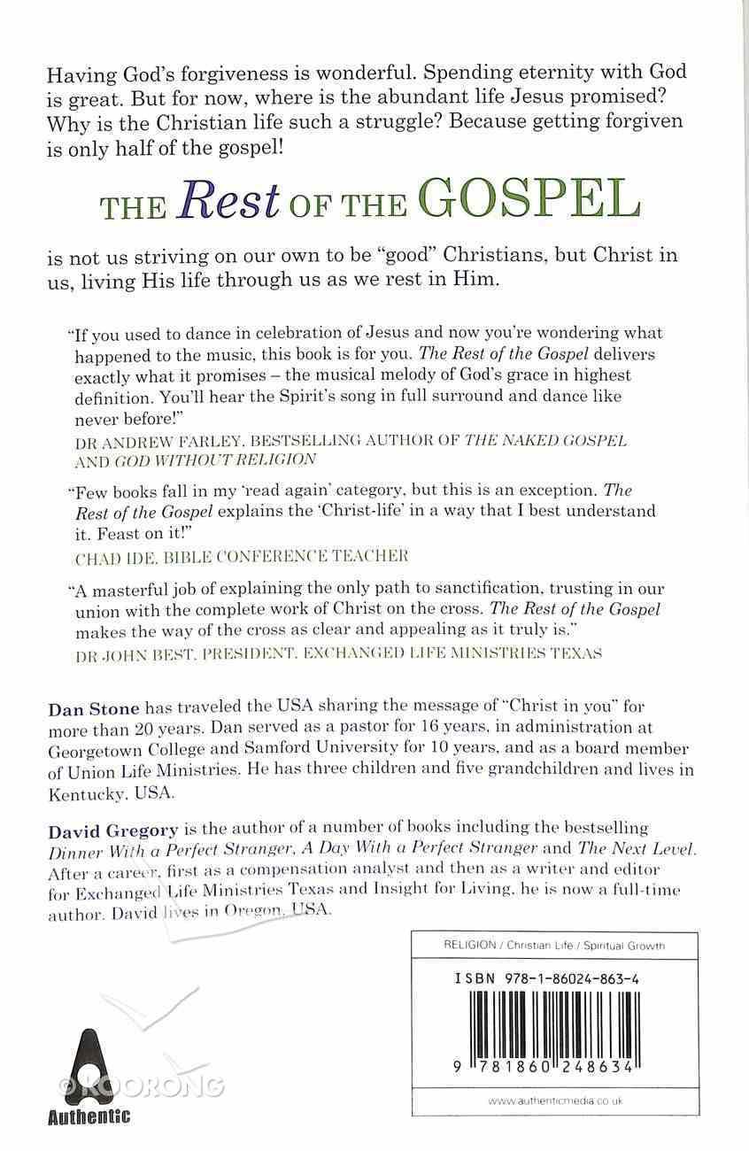The Rest of the Gospel Paperback