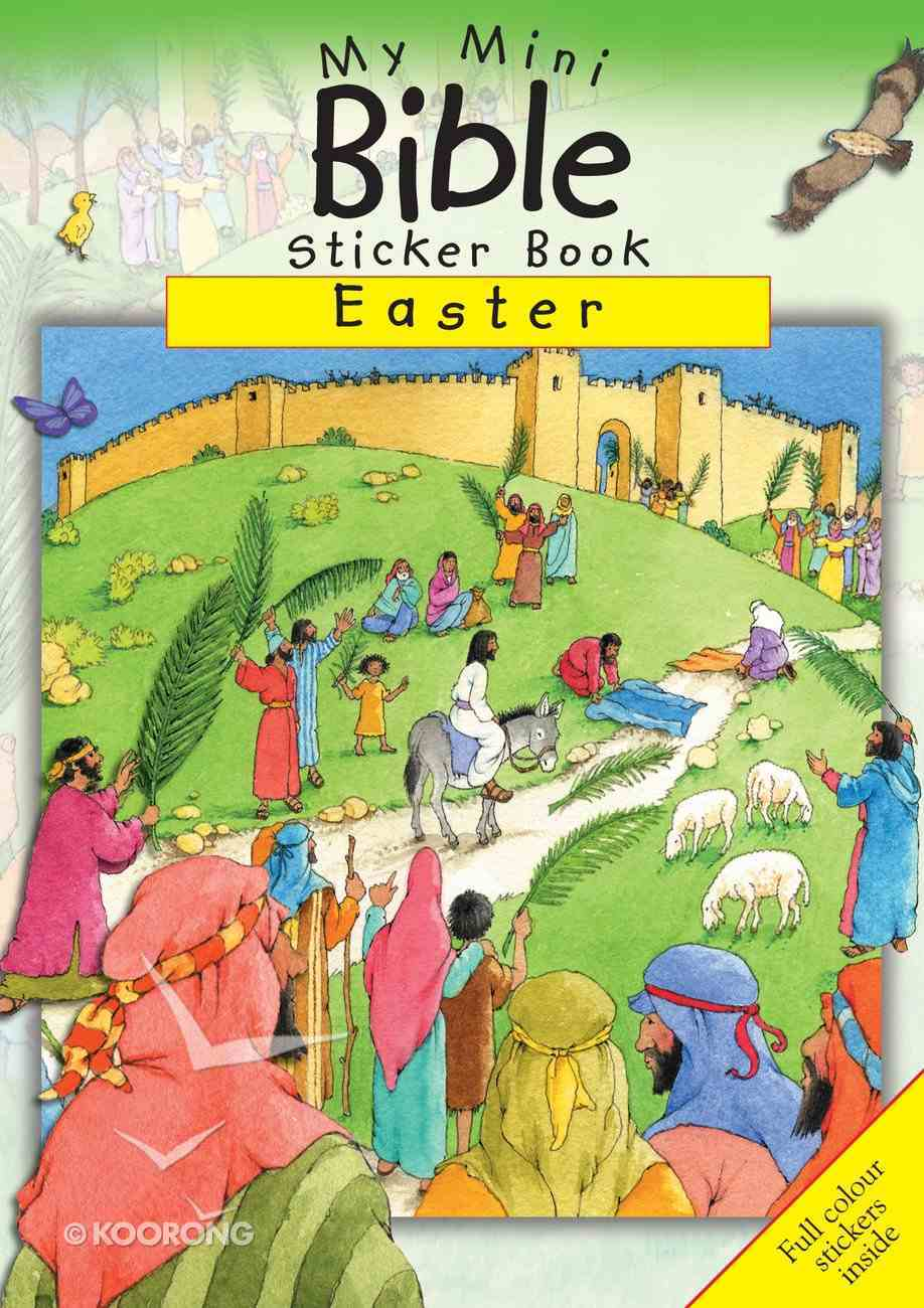 My Mini Bible Sticker Book: Easter Paperback