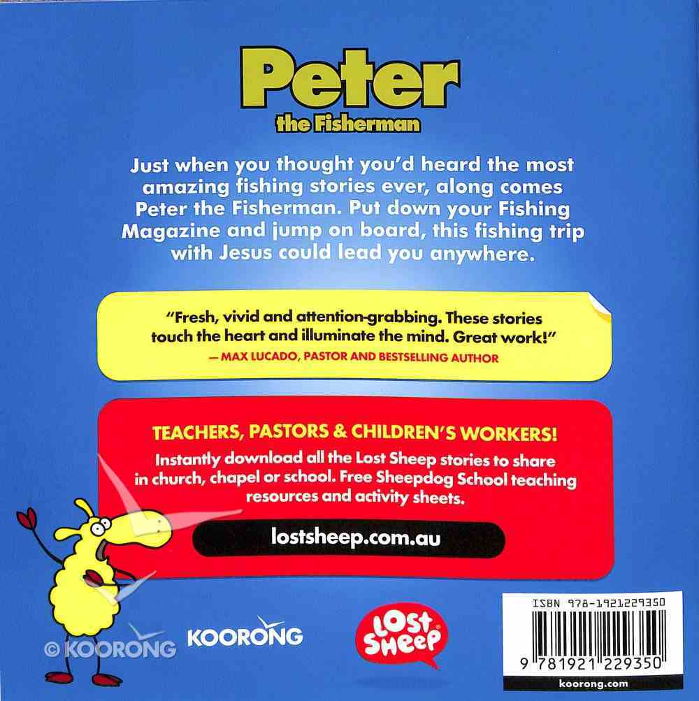 Peter the Fisherman (Lost Sheep Series) Paperback