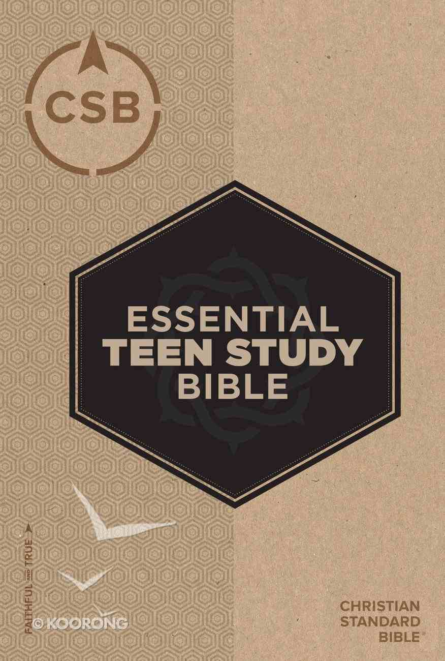 CSB Essential Teen Study Bible Hardback