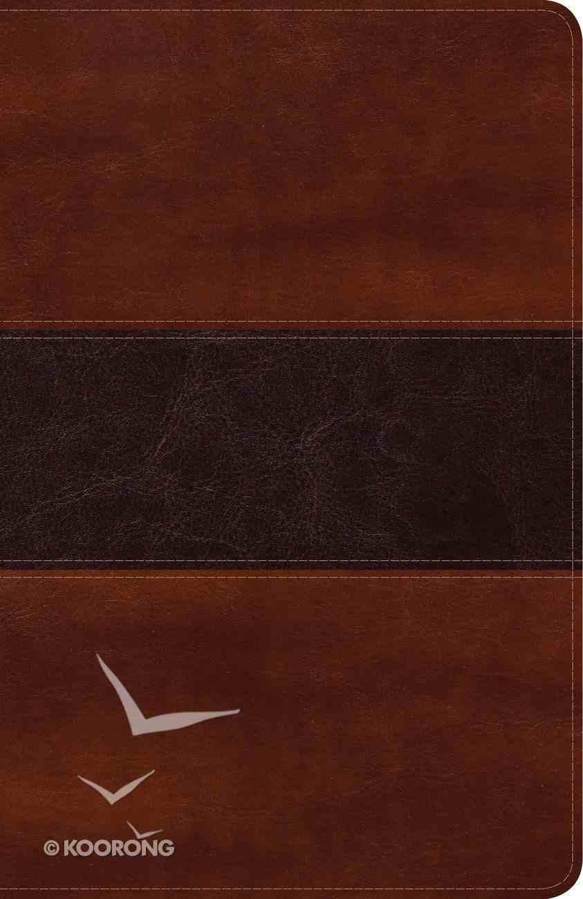 Biblia Peshitta Caoba Smil Piel Imitation Leather