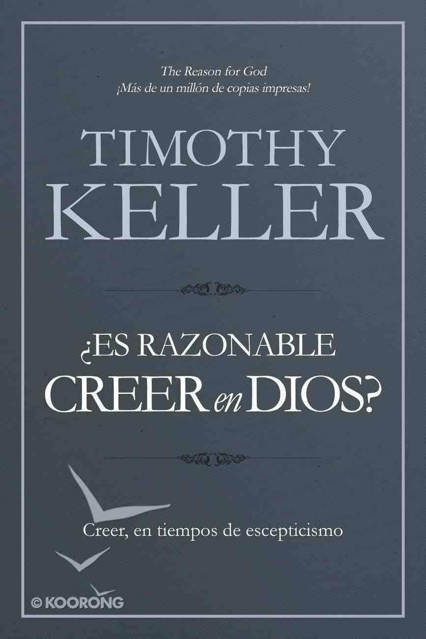 Es Razonable Creer En Dios? Paperback