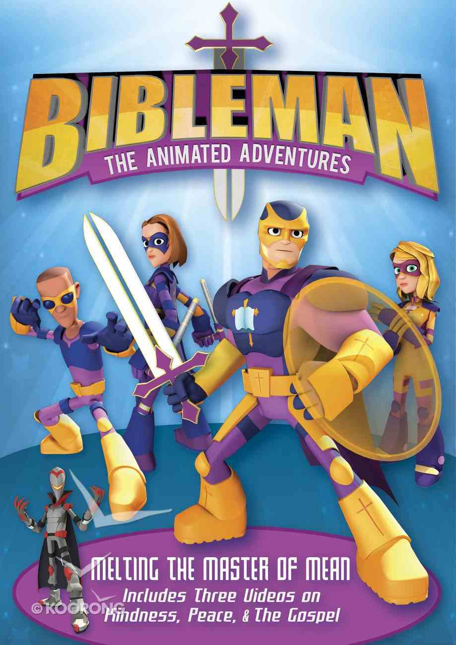 Melting the Master of Mean (Bibleman The Animated Adventures Series) DVD