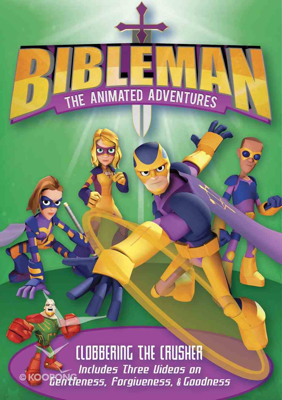 Clobbering the Crusher (Bibleman The Animated Adventures Series) DVD