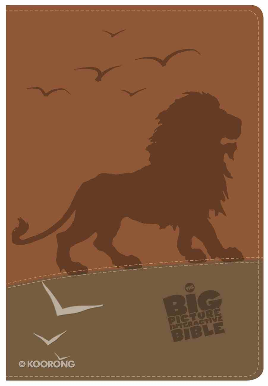 CSB Big Picture Interactive Bible Lion Imitation Leather