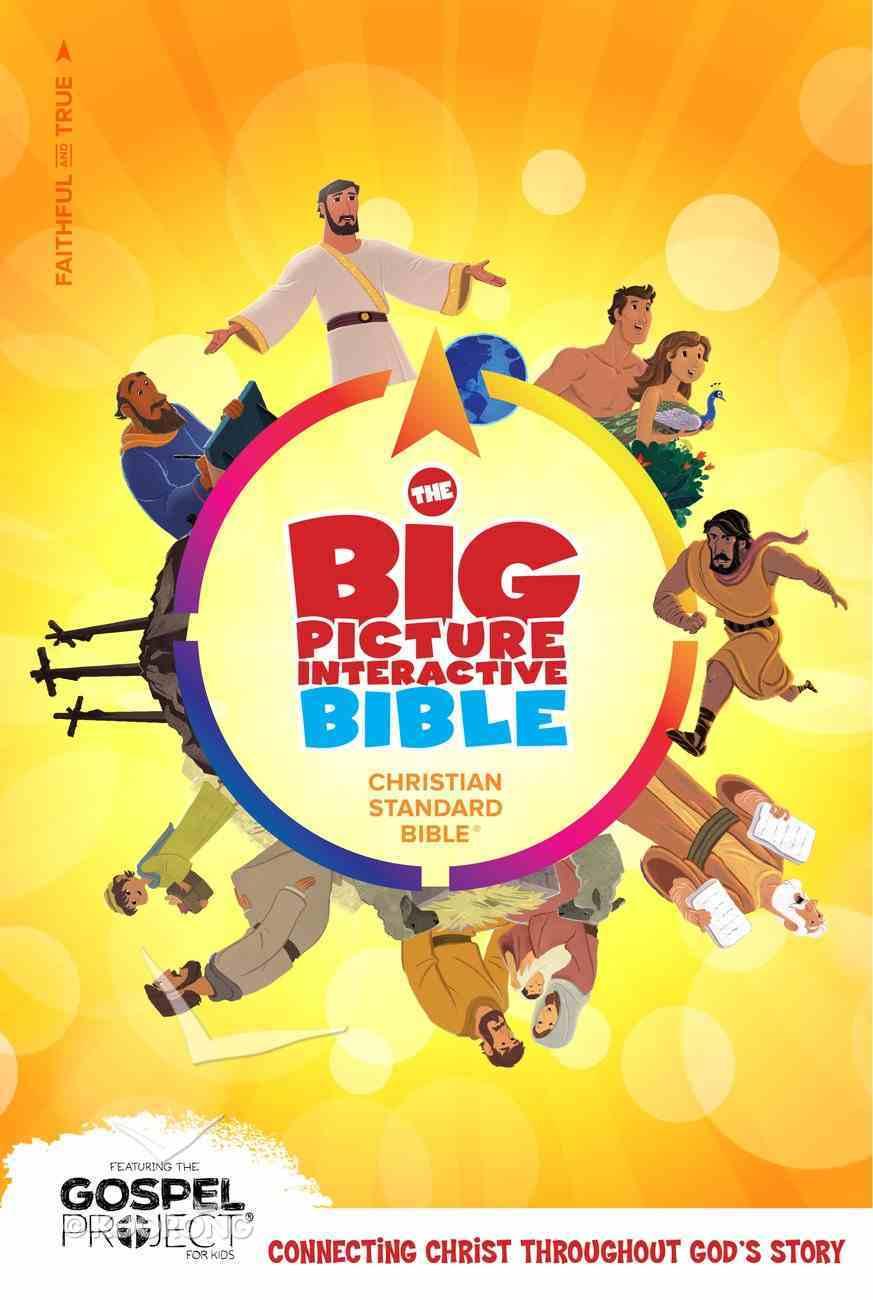 CSB Big Picture Interactive Bible Hardback
