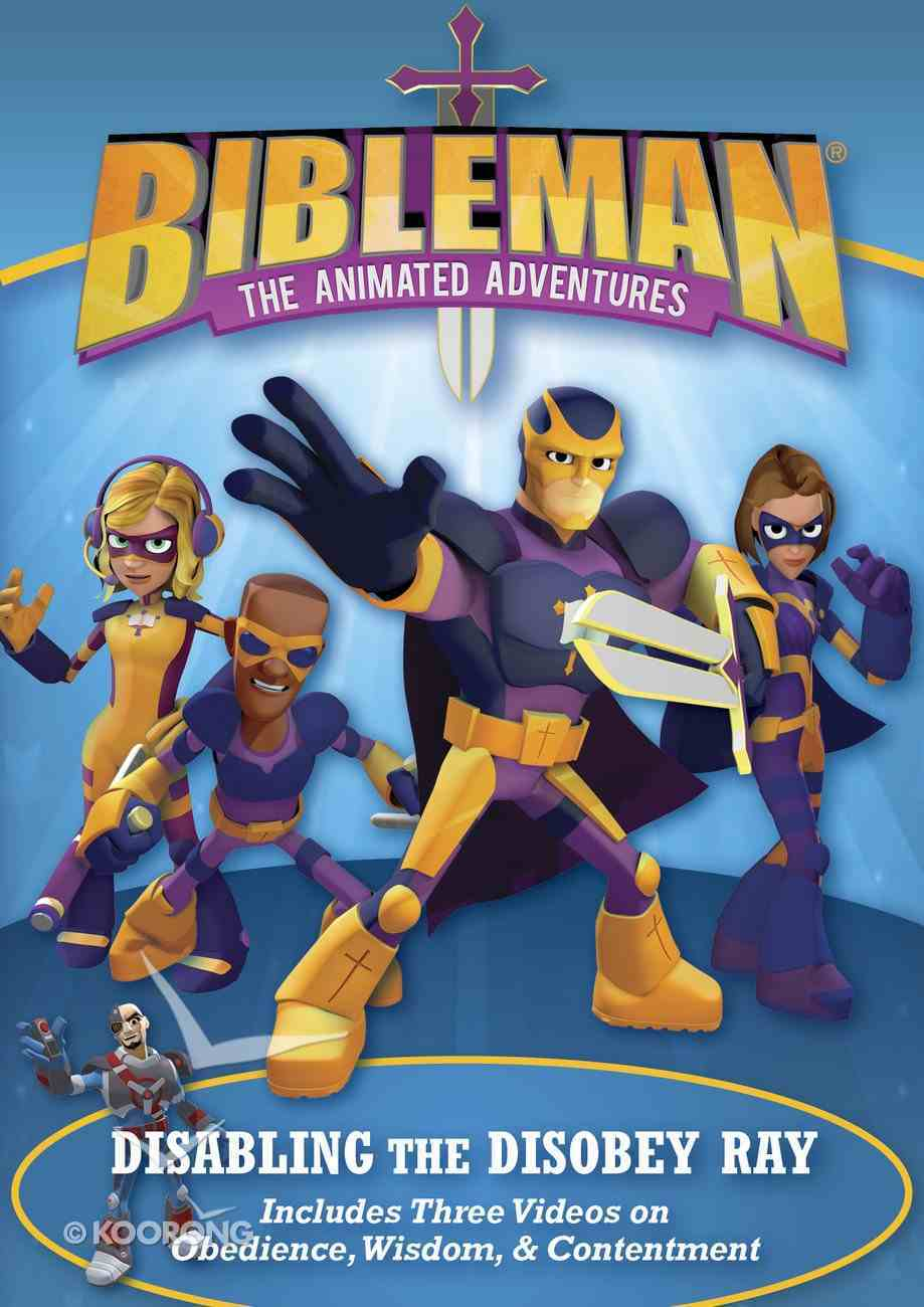 Disabling the Disobey Ray: Plus Two Additional Bibleman Adventures! DVD