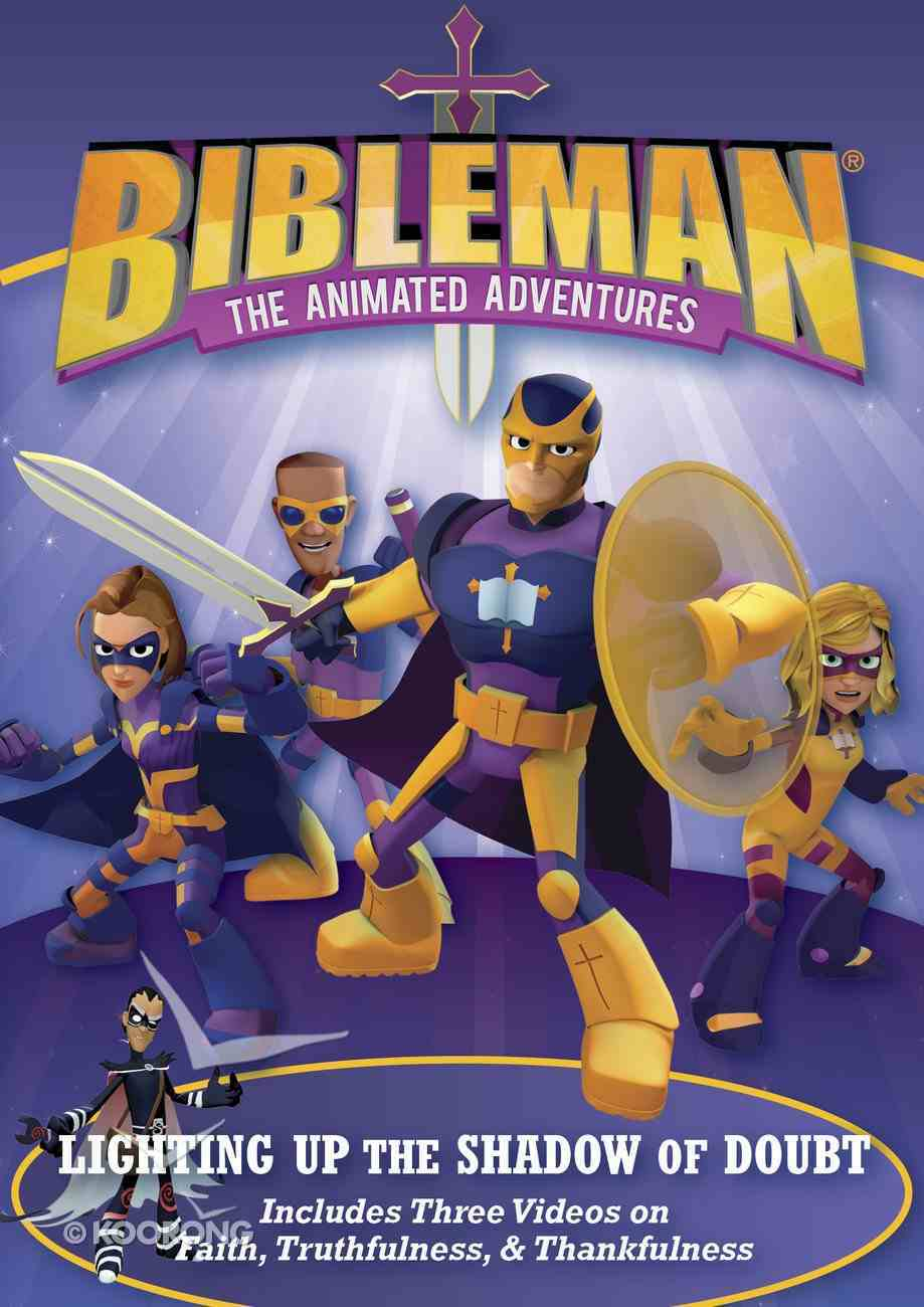 Lighting Up the Shadow of Doubt: Plus Two Additional Bibleman Adventures! DVD