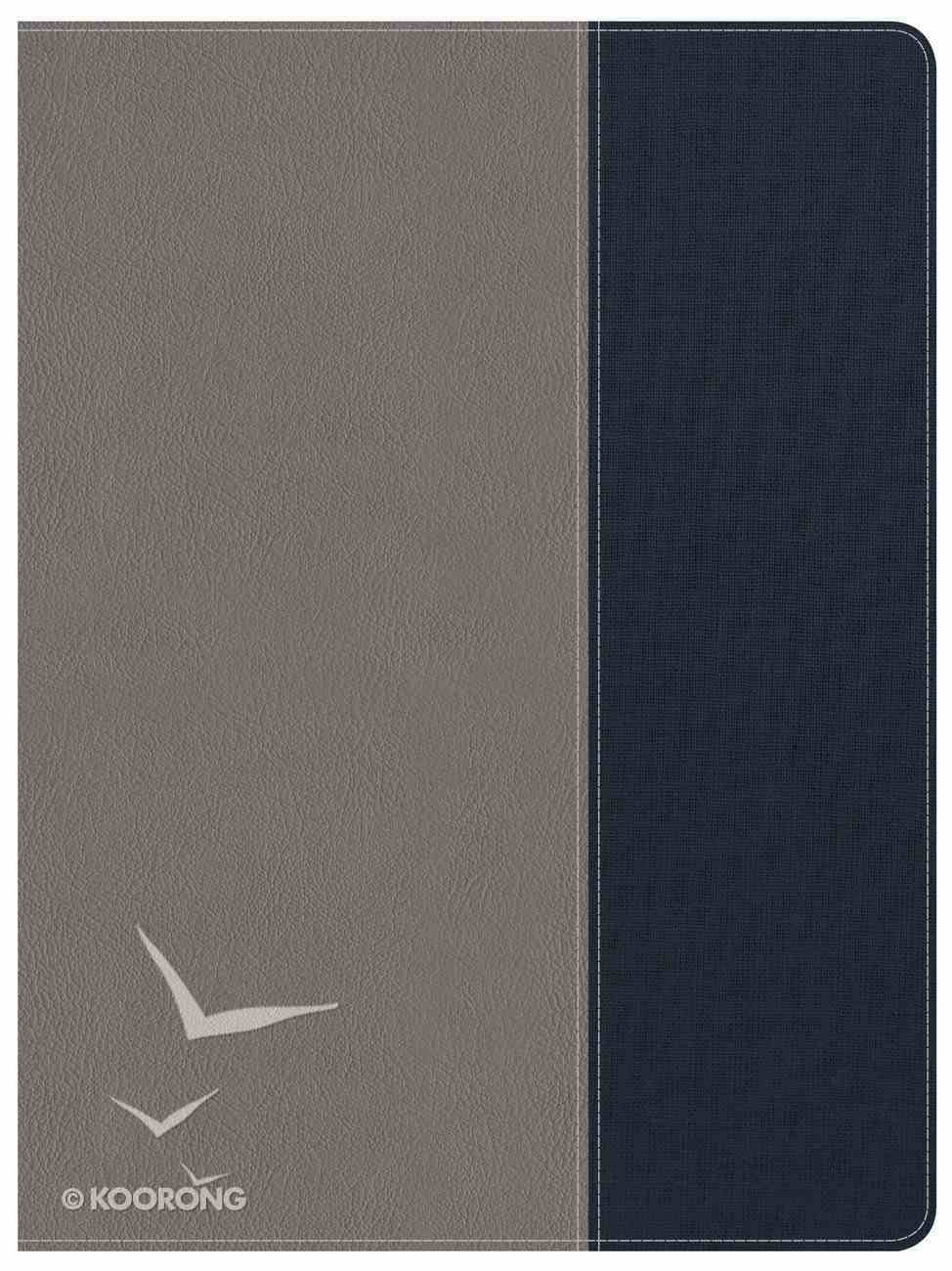 CSB Apologetics Study Bible For Students Gray/Navy Indexed Imitation Leather