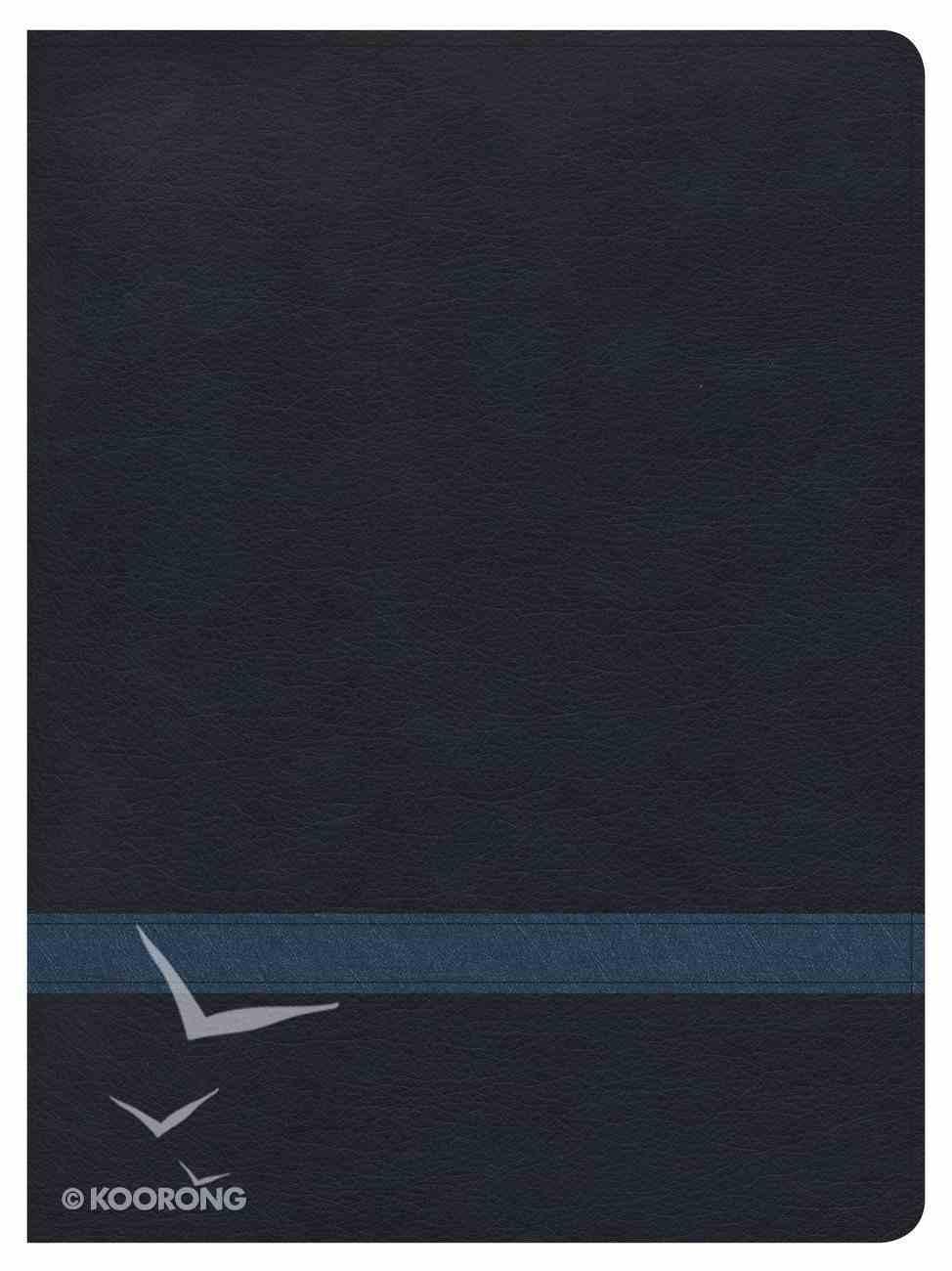 CSB Apologetics Study Bible Navy Indexed Imitation Leather